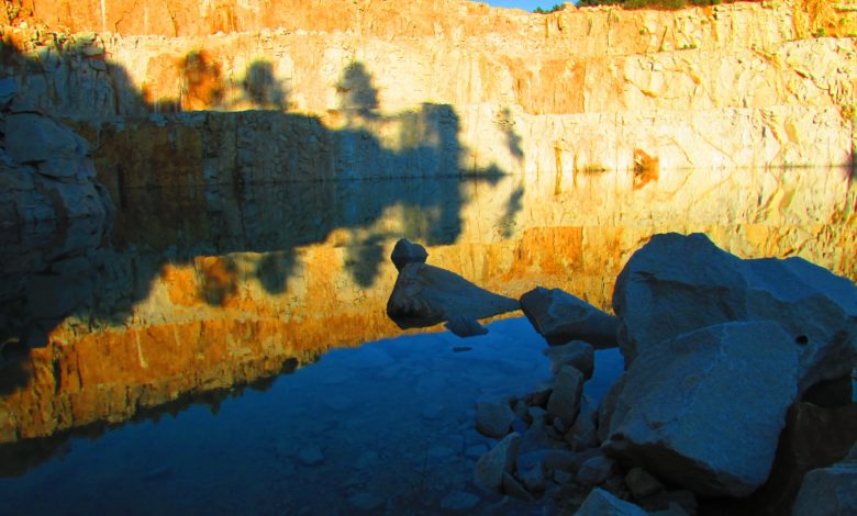 Photo of Fotos de la Cantera abandonada en Cartelle (I)
