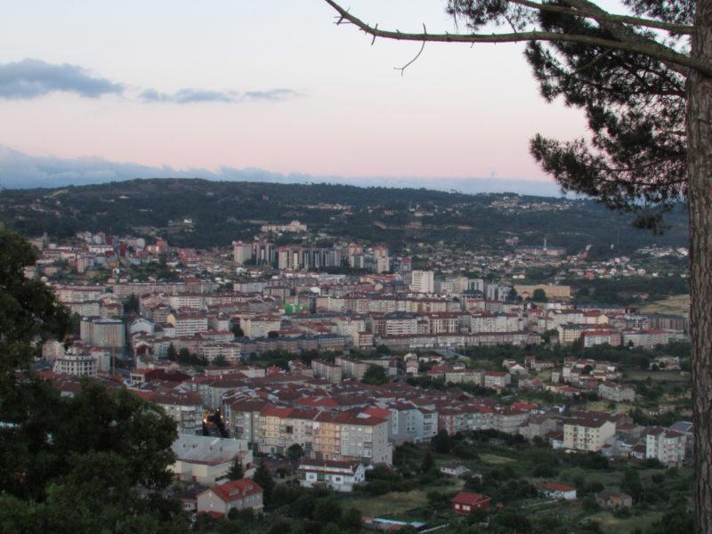 Panorámica de Ourense