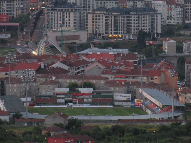 Estadio de O Couto en la Ciudad de Ourense