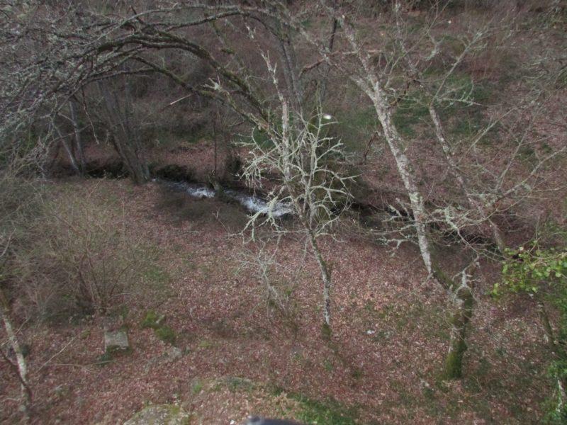 El Rio Freixo a su paso por Couso Galán