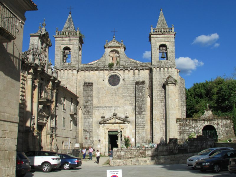 Monasterio de Santo Estevo - Iglesia
