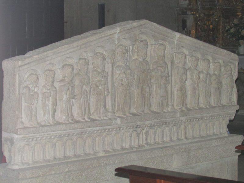 Monasterio de Santo Estevo - Apóstoles