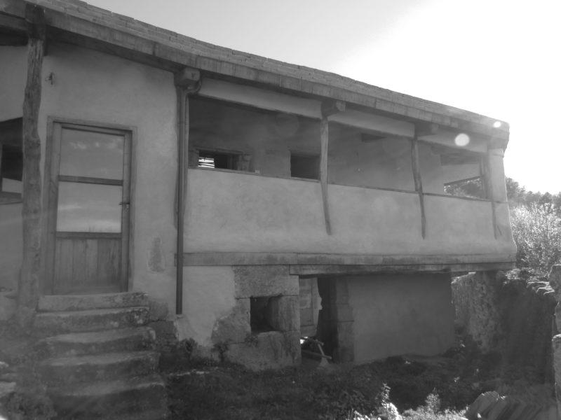 Casa en restauración en Saumede