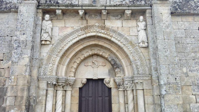 Detalle de Fachada - A Mezquita