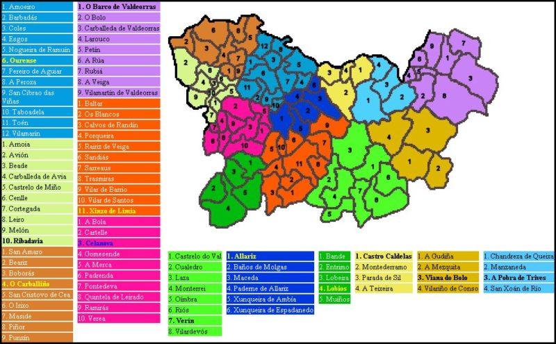 Ayuntamientos de Ourense