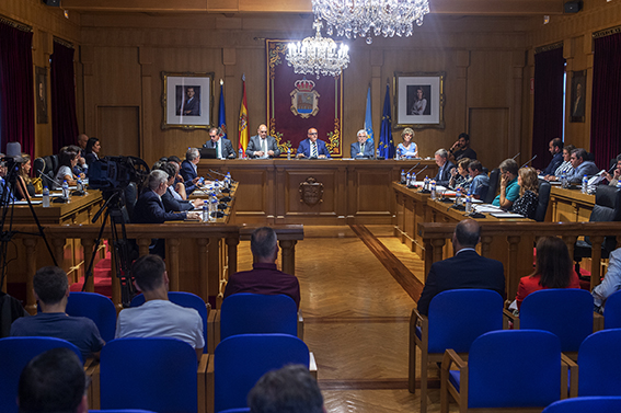Sueldos en la Diputación de Ourense