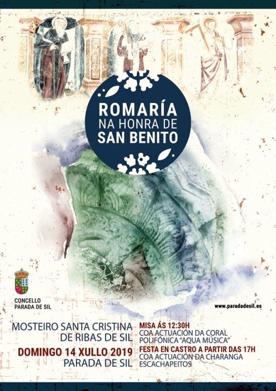 Romeria en el Monasterio de Santa Cristina