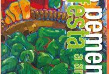 Cartel Festa do pemento de Arnoia