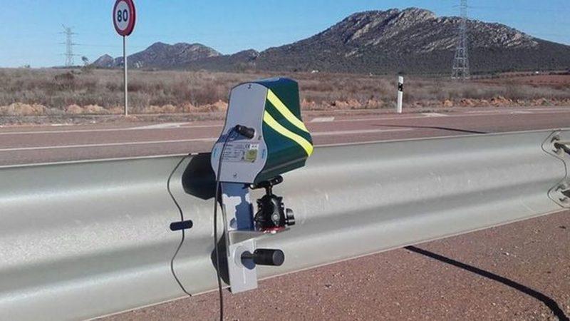 Radar de control de la Velocidad