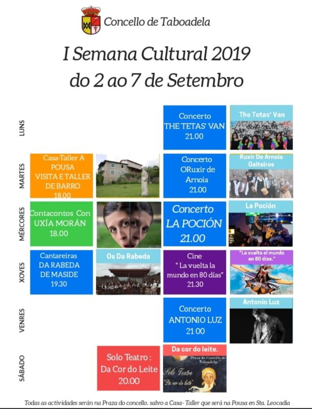 Semana cultural en Taboadela
