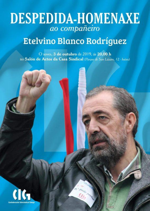 Homenaje a Etelvino Blanco