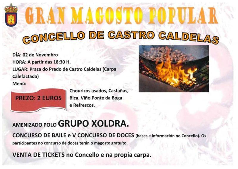 Magosto en Castro Caldelas