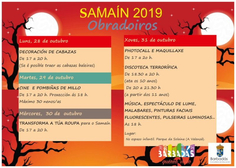 Samaín 2019 en Barbadás