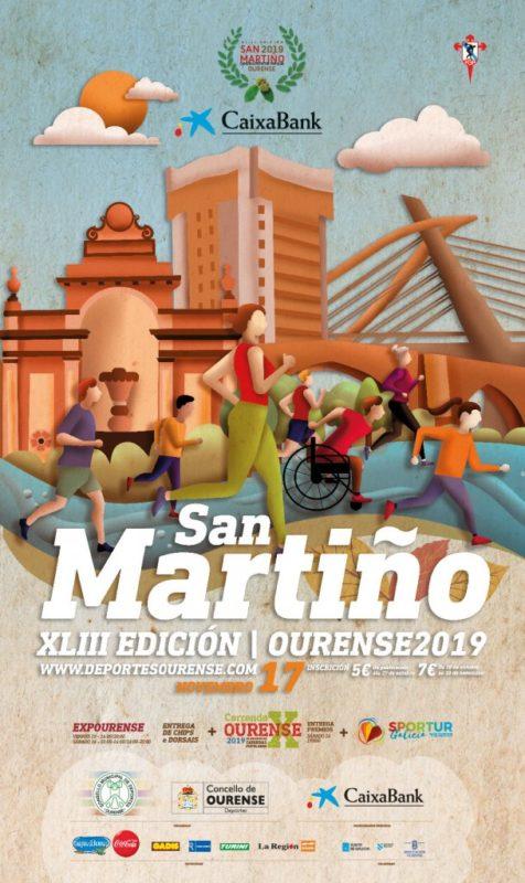 Carrera de San Martiño en Ourense