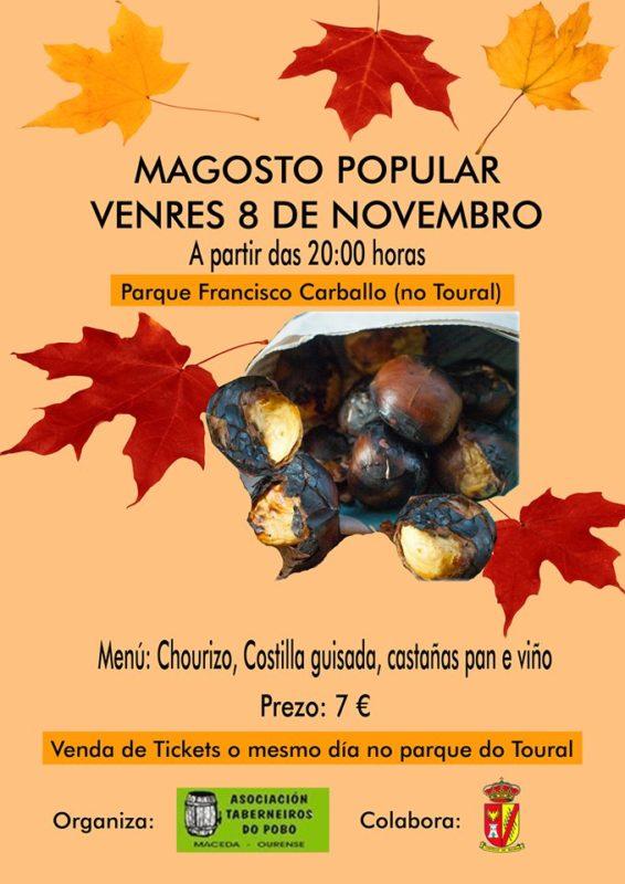 Magosto Popular en Maceda