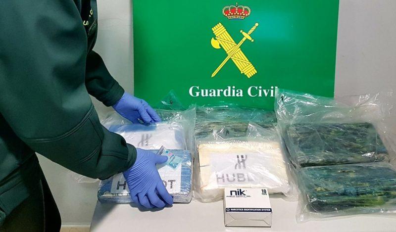 Detenido con 10 kilogramos de cocaína