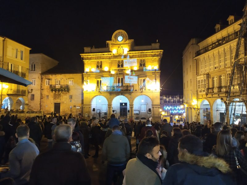 Video Mapping de Navidad en Ourense