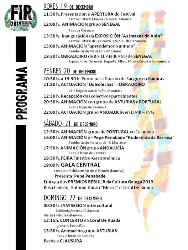 Programa Festival Internacional Rebulir