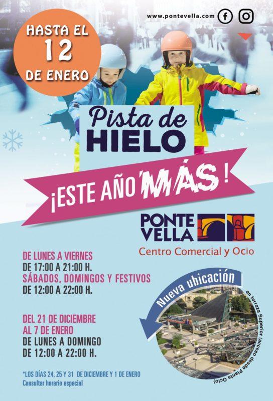 Patinaje sobre hielo en Ourense