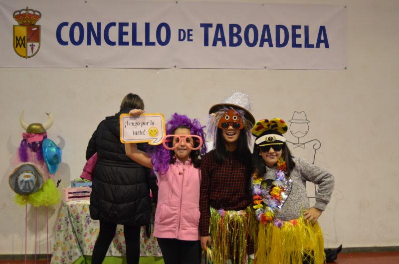 Concurso de disfraces en Taboadela