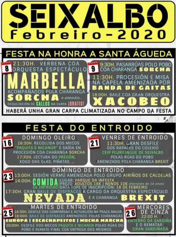 Entroido de Seixalbo 2020