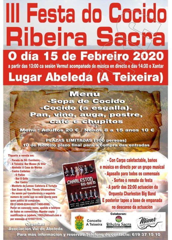 III Festa do Cocido Ribeira Sacra en Abeleda
