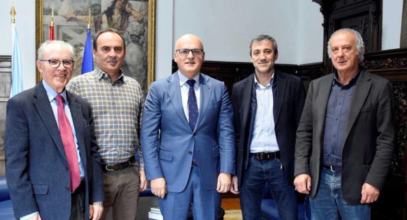Reunión entre Diputación y Santa Águeda