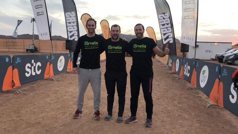 Titanes de Ourense en el desierto