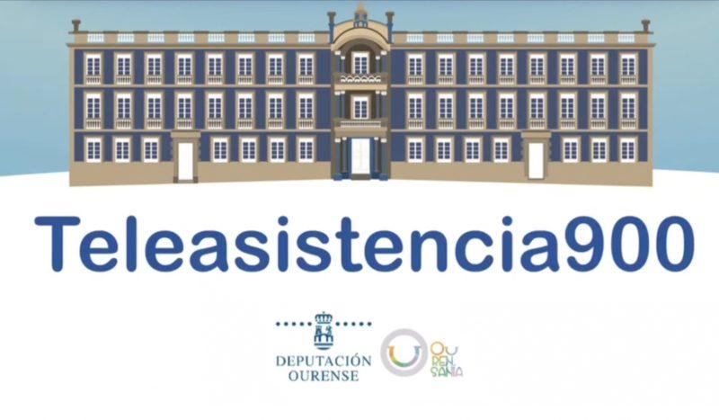 Teleasistencia 900 de la Diputación