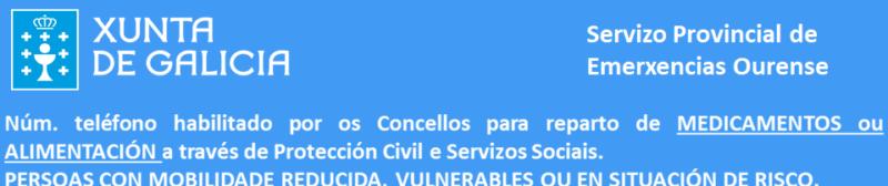 Teléfonos de ayuda en Ourense