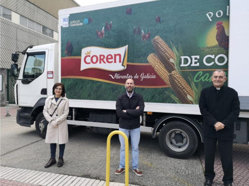 Importantes donaciones de Coren