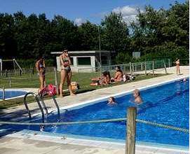 Photo of Abiertas las piscinas de Taboadela