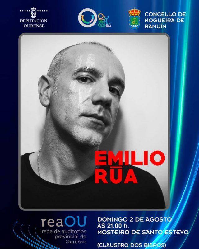 Emilio Rúa en Santo Estevo