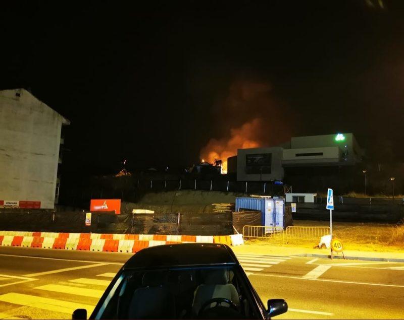 Primeros incendios en Ourense