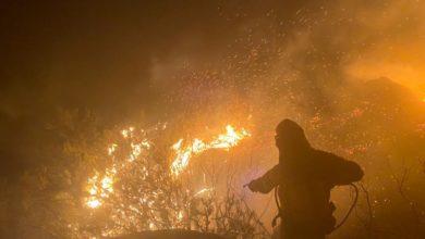 Photo of Viana do Bolo sigue en llamas