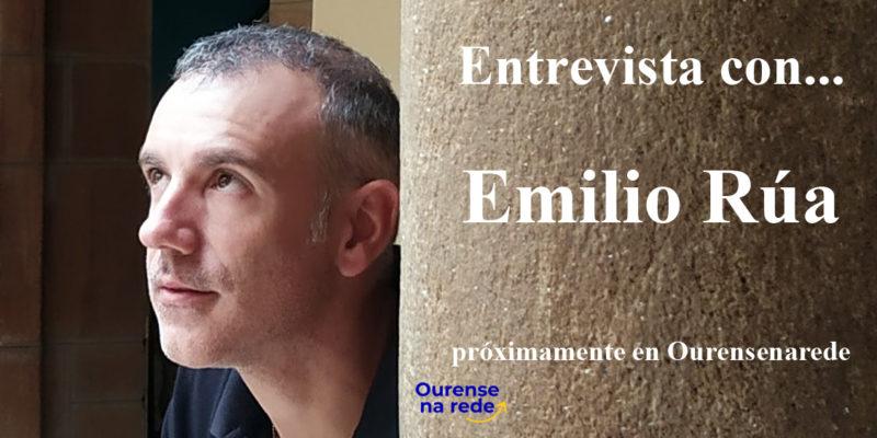 Emilio Rúa en Ourense na rede