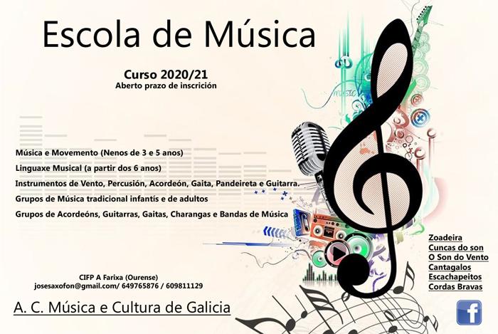 Escuela de Música en Ourense