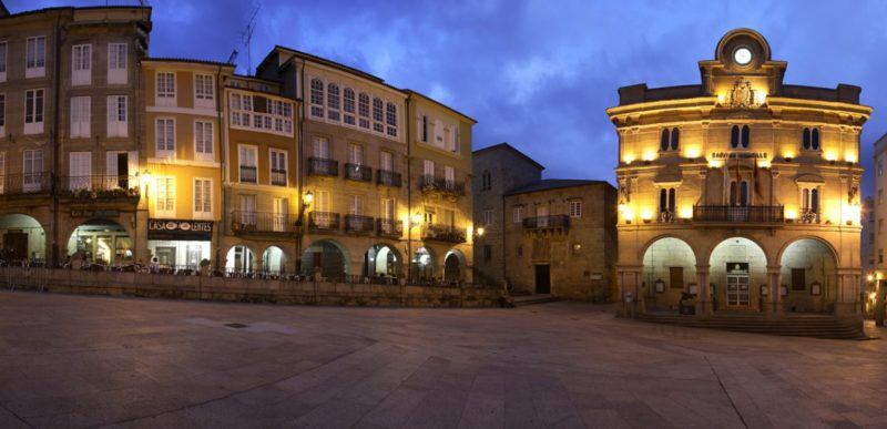 La Plaza Mayor de Ourense es única