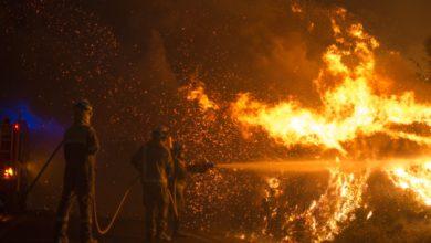 Photo of El fuego se intensifica en Ourense