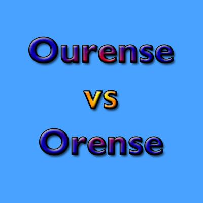 Ourense vs Orense