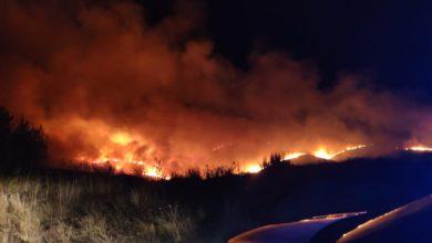 Photo of Un incendio cierra la autovía en A Gudiña