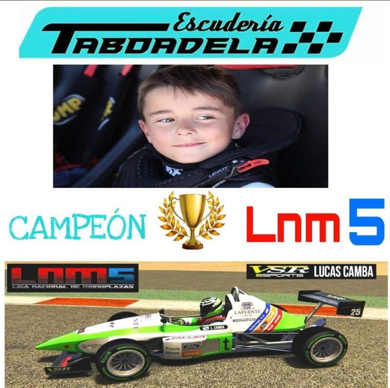 Taboadela gana el campeonato nacional