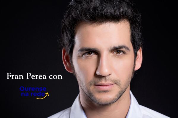 Ourense na rede entrevista a Fran Perea