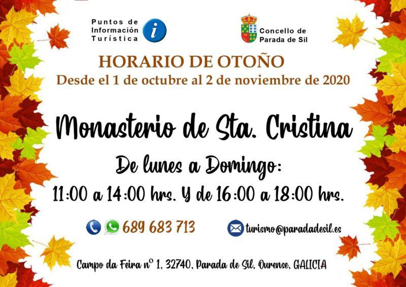 Horario de otoño en Santa Cristina