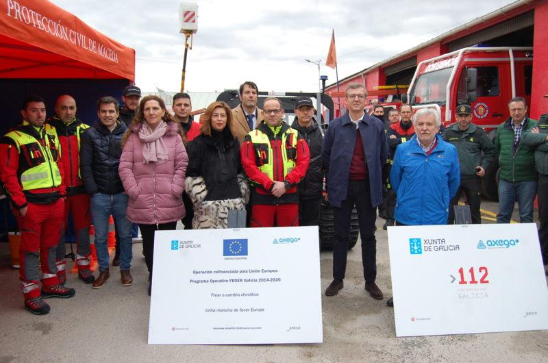 Nuevos servicios de emergencias en Maceda y A Veiga
