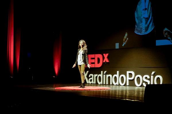 Mafalda Soto en el TEDx de Ourense