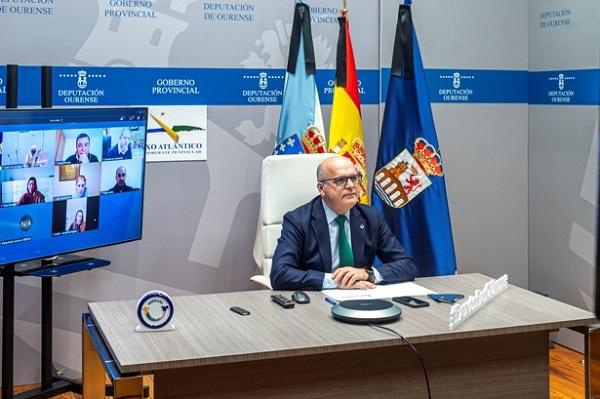 Manuel Baltar es elegido presidente del Foro Termal Eixo Atlántico