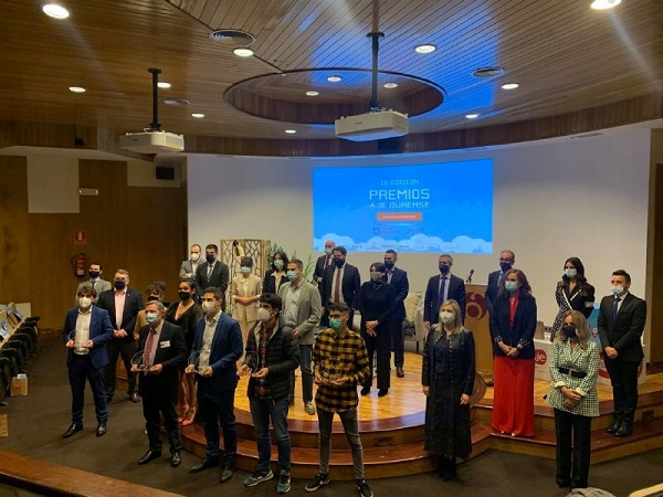 IX Edición de los Premios AJE Ourense