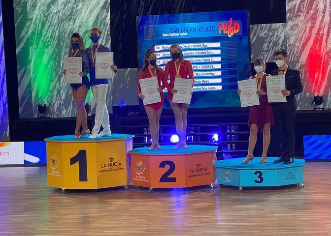 Ourense triunfa en el Campeonato de Baile Deportivo