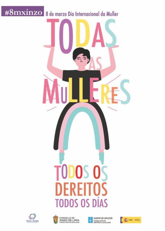 Día internacional de la Mujer en Xinzo de Limia